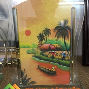 Tranh cát phong cảnh quê hương Việt Nam đẹp