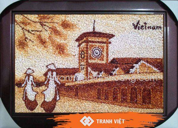 Tranh gạo chợ Bến Thành - 460
