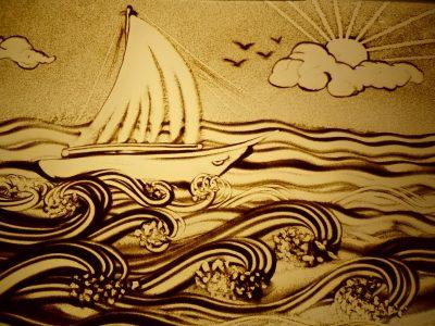 Lịch sử hình thành và phát triển tranh cát nghệ thuật 1