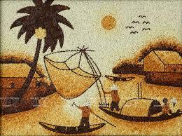 Tại sao nên treo tranh gạo Việt để trang trí trong nhà ? 1
