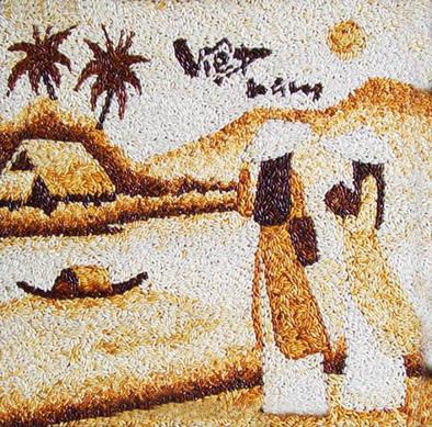 Tại sao nên treo tranh gạo Việt để trang trí trong nhà ? 22