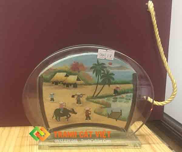 Tranh cát phong cảnh – Oval Mini 028 2