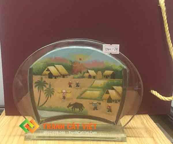 Tranh cát phong cảnh – Oval Mini 029 1