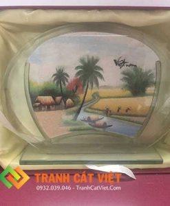 Tranh cát phong cảnh – Oval Trung 051